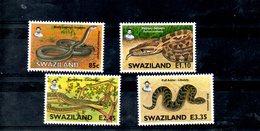 SWAZILAND, 2005, SNAKES, 4v. MNH** - Snakes