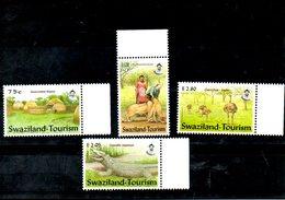 SWAZILAND, 2002,  ANIMALS, BIRD, 4v. MNH** - Stamps