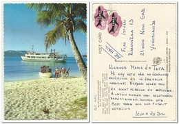 Tonga - Blue Lagoon Cruises Ship ,used Air Mail 1979 - Tonga