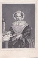 Bidprentje Litho - Zegers Françoise + Brussel- 24.03.1855- Mutsje - Religion & Esotérisme