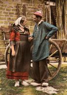 71 - LOUHANS - COSTUME COMPLET D'UN COUPLE - Louhans