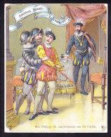 BELLE CHROMO  AMIDON REMY  Papier Fin  GRAND FORMAT 10 X 12.5cm  Roi Philippe II   Fils Carlos   Espagne Spain Royalty - Autres