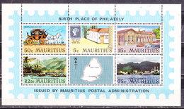 Mauritius 1970-Foglietto Nuovo MNH** - Mauritius (1968-...)