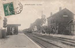 80 - MARCELCAVE - La Gare - Autres Communes