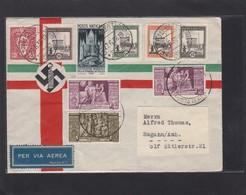 LETTRE DE LA CITE DU VATICAN POUR L'ALLEMAGNE,1938. - Vatican