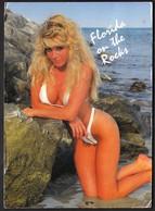 USA United States West Palm Beach 1991 / Florida / On The Rocks / Girl In A Bikini - Palm Beach