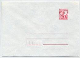 YUGOSLAVIA 1987 Posthorn 106 D. Envelope, Unused. Michel U80 - Postal Stationery