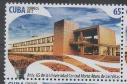 EDUCATION , 2017, MNH, UNIVERSITIES,1v - Architecture