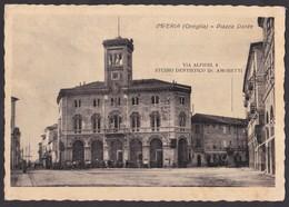 IMPERIA (ONEGLIA) PIAZZA DANTE - E - F/G - V: 1950 - Imperia