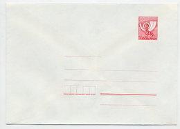 YUGOSLAVIA 1987 Posthorn 60 D. Envelope, Unused. Michel U77 - Postal Stationery