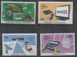TECHNOLOGY , 2017, MNH, COMPUTERS, TELECOMMUNICATIONS, INTERNET, WI-FI, VIDEO GAMES, 4v - Telecom
