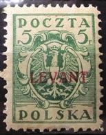 LEVANT POLONAIS                N° 2               NEUF* - Levant (Turquía)