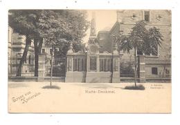 7500 KARLSRUHE, Nuits - Denkmal, Ca. 1905 - Karlsruhe