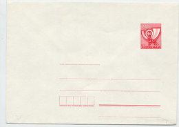 YUGOSLAVIA 1978 Posthorn 2.00 D. Envelope, Unused. Michel U71 - Postal Stationery