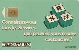 CARTE¤PUBLIC-120U-SO3-F 178-08/91-CONVERSATION A TROIS-V°6 N°Lasers A 185396-UTILISE-TBE - France