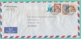 LETTRE  DE BANGKOK POUR HERDDECKE/RUHR,6-10-1962. - Thaïlande
