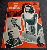 """Altes DNFP-Filmprogramm - SOPHIA LOREN In """"Stolz Und Leidenschaft"""" Mit Frank Sinatra, Cary Grant ... - 180887 - Riviste"""