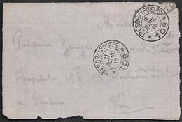 CM 119  Correspondance Militaire 8-04-16 Cachet Trésor Et Postes Double Cercle N°(SP)109 1ère Division Marocaine - Marcophilie (Lettres)