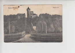 Balaton, Used 1916 Postcard (st371) - Hungary