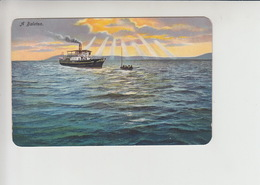 Balaton, Used 1915 Postcard (st372) - Hungary