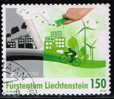 Used Stamp Of Liechtenstein 2016: Europa Cept Oblitere - Europa-CEPT