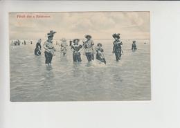 Balaton, SWIMM SUIT Used 1910 Postcard (st374) - Hungary