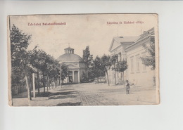Balaton, STREET SCENE Unused Postcard (st375) - Hungary