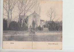 Balaton, DOUBLE Used Postcard (st377) K.u.K. Siofok Spital Cancelation 1916 - Hungary