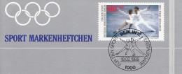 BERLIN DSH-MH 11 B Postfrisch **, Privates Markenheftchen Der Deutschen Sporthilfe 1988 Mit 6x MiNr 802, Eiskunstlauf - Berlin (West)