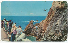 El Clavadista, Acapulco, Cliff Diver, 1971 Postcard - Mexico