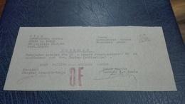 1. (a) Potvrdilo  Stab Gorenjskega Odreda , Odsek Za Zveze 1944. Retko    Partisan Confirmation  For Money Slovenia - Slovenia