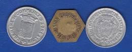 3  Jetons - Monedas / De Necesidad