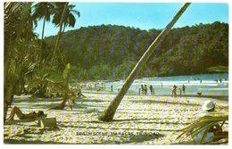 TRINIDAD & TOBAGO - MARACAS BAY ON TRINIDAD'S NORTH COAST / THEMATIC STAMP-FLAG - Trinidad