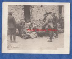 Photo Ancienne - COURBOIN ( Aisne ) - Soldats US Du 30th Et 38th Infantry - Ambulance - 1918 - US Army WW1 Américain Med - War, Military