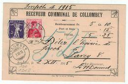 Suisse // Schweiz // Switzerland // 1907-1939 // Carte Publicitaire Et Commerciale  Au Départ De Bern - Lettres & Documents