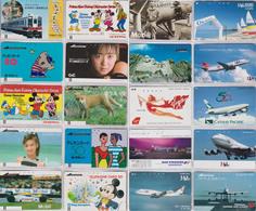 JOLI LOT Collection De + De 2000 TELECARTES Japon - MANY PRIVATE - Japan Phonecards - THEMES TRES VARIES - Japan