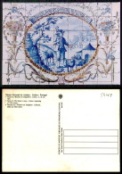 PORTUGAL COR 54763 - LISBOA - MUSEU NACIONAL DO AZULEJO TILE - HISTÓRIA DO CHAPELEIRO - Lisboa