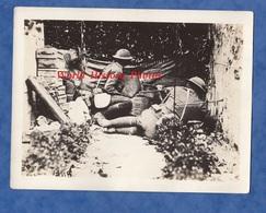 Photo Ancienne - Secteur CHATEAU THIERRY - Soldats Américains Du 7th Machine Gun Bn - 1918 - WW1 Americain Front US - War, Military