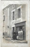 Carte Photo Ancienne Café Restaurant - Professions