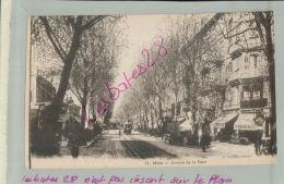 CP  06 NICE  Avenue De La Gare    M 2018 803 - Nizza