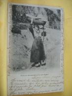 L4 1060 CPA 1902. 09 NOURRICE BETHAMALAISE AVEC SON ENFANT. (+ DE 20000 CARTES A MOINS 1 EURO) - Francia