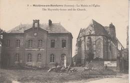 80 - MEZIERES EN SANTERRE - La Mairie Et L' Eglise - Autres Communes