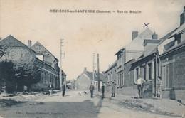 80 - MEZIERES EN SANTERRE - Rue Du Moulin - Autres Communes