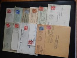 """Lot D'enveloppes """"seul Sur Lettre"""" - Marcophilie (Lettres)"""