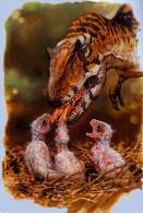 S44-040  @  Dinosaur Prehistorics ( Postal Stationery , Articles Postaux , Postsache F ) - Stamps