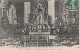 80 - BELLANCOURT - Monflières - Intérieur De La Chapelle De La Vierge - Autres Communes