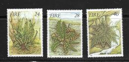 IRLANDE 1986 FLEURS  YVERT N°589/91  NEUF MNH** - Plants