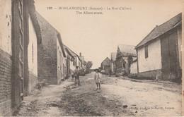 80 - MORLANCOURT - La Rue D' Albert - Autres Communes