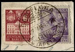 RARO MATASELLOS  - ESTAFETA Nº 11 GOBIERNO CIVIL - BARCELONA - Machine Stamps (ATM)