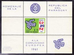 PARAGUAY  EUROPA 1961 ** MNH, NON OFFICIEL . (CL1J100) - 1961